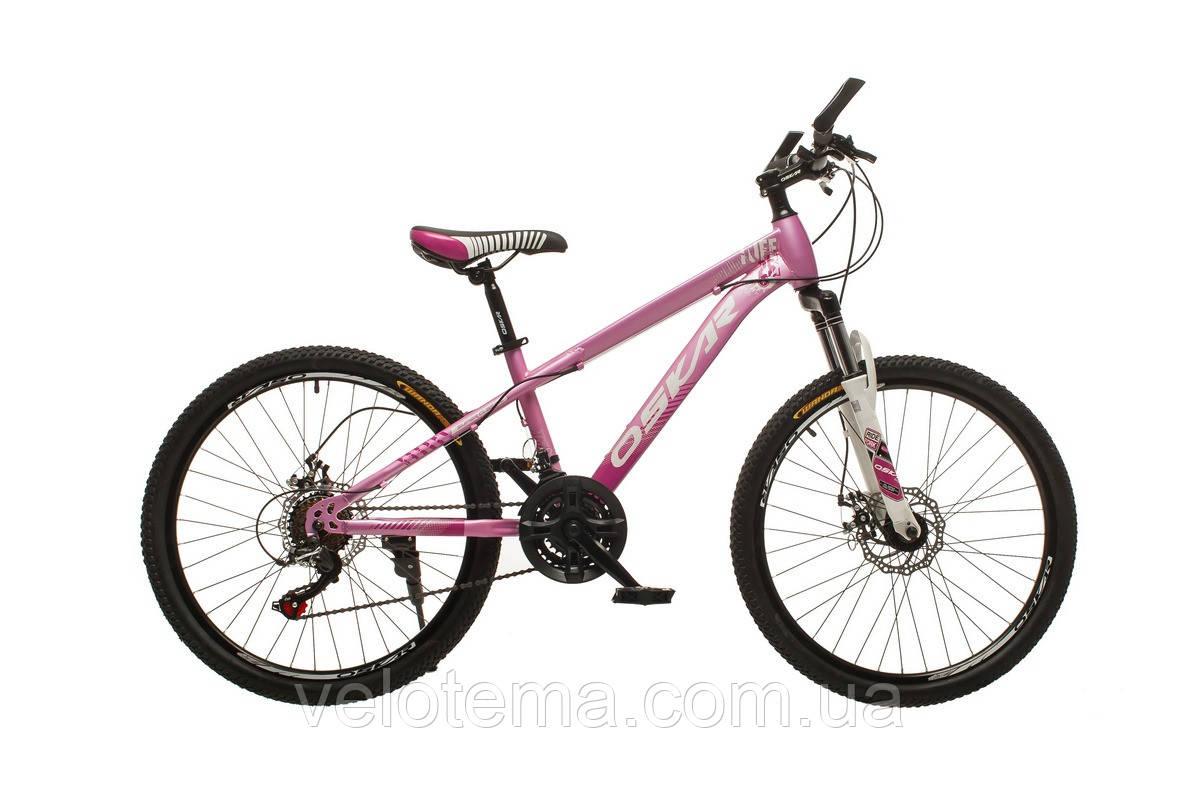 """Велосипед Oskar T uff 24""""M16021 фиолетовый"""