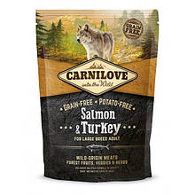 Корм для собак Carnilove Adult Large Salmon & Turkey 1,5кг