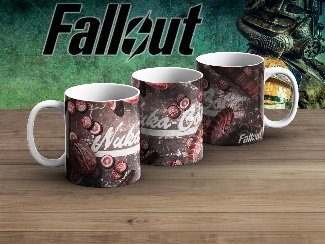 Чашка крышки Nuka Cola Фаллаут / Fallout
