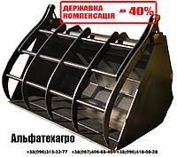 Ковш с вилочным захватом на погрузчик  КОМПЕНСАЦИЯ 40%, фото 1