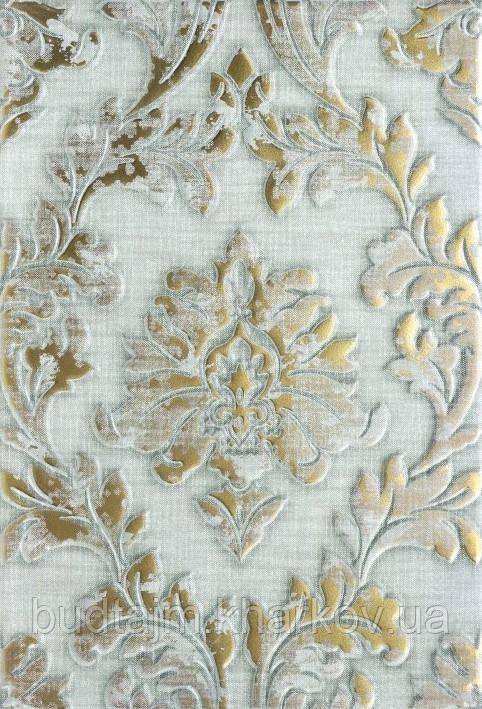 400х275 Керамическая плитка стена Дамаск 2С декор