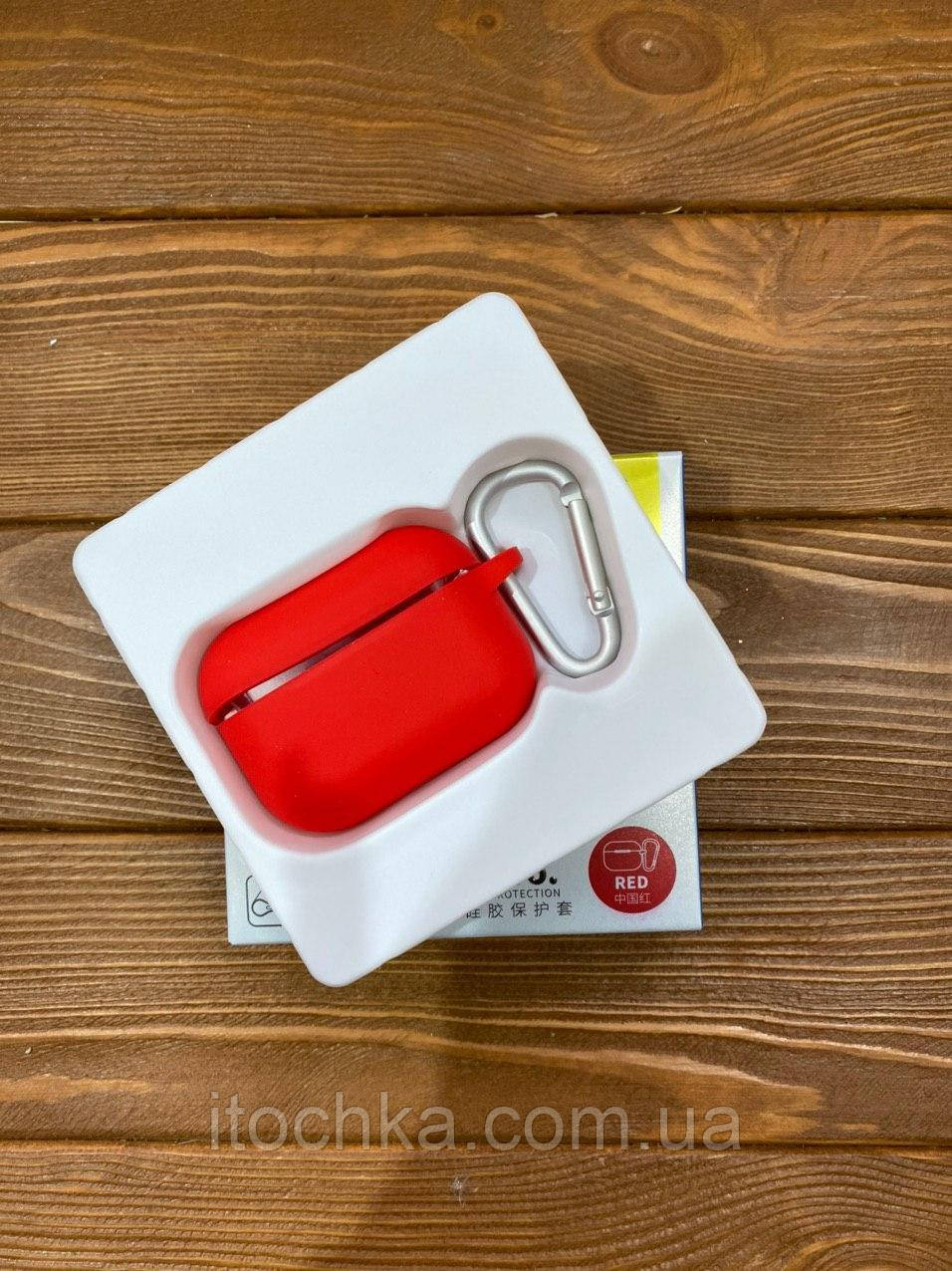 Чехол Blueo Silicone Case for AirPods Pro - Red