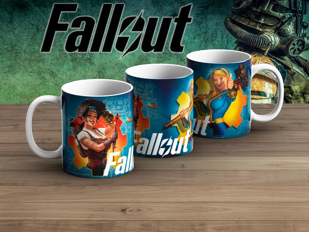 Чашка девушки Фаллаут / Fallout