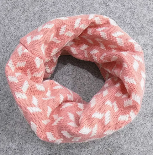 Детский вязаный шарф - хомут Оптом