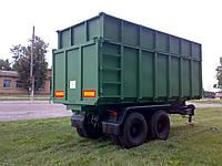 Полуприцеп для перевозки щепы 30 м³