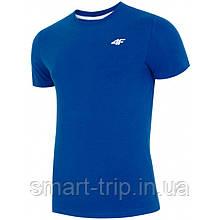 Мужская футболка 4F M синий (H4L19-TSM002)
