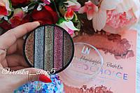 Палетка глиттеров для макияжа LN Professional GALAXY DREAM GLITTERS