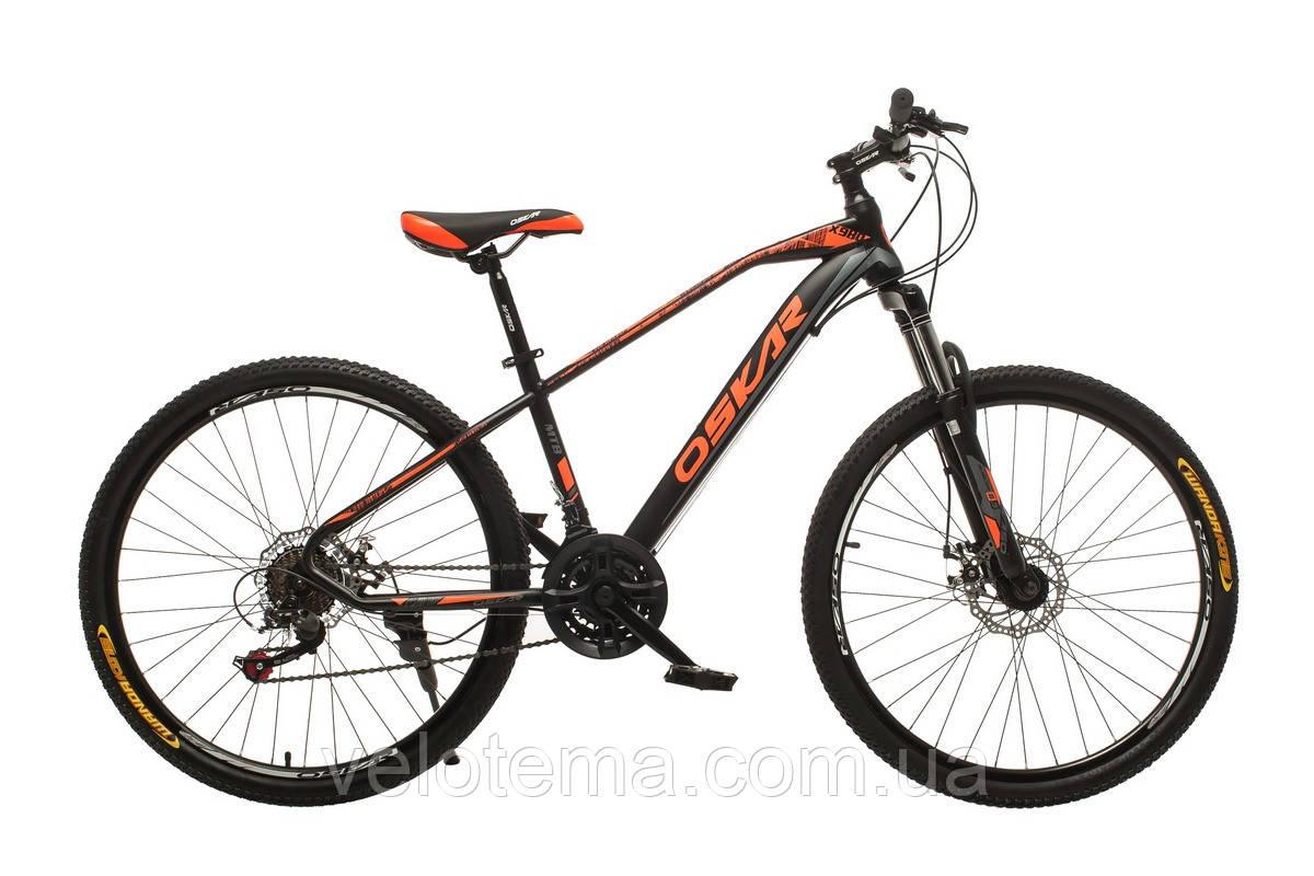 """Велосипед Oskar 26""""M115 чорний"""