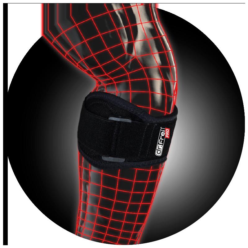 Бандаж Dr. Frei Sport на локтевой сустав фиксирующий (локоть теннисиста/гольфиста) S8322