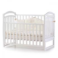 Ліжечко Верес Соня ЛД6 без ящика (колір: білий) ЄС (новий функціонал), фото 1