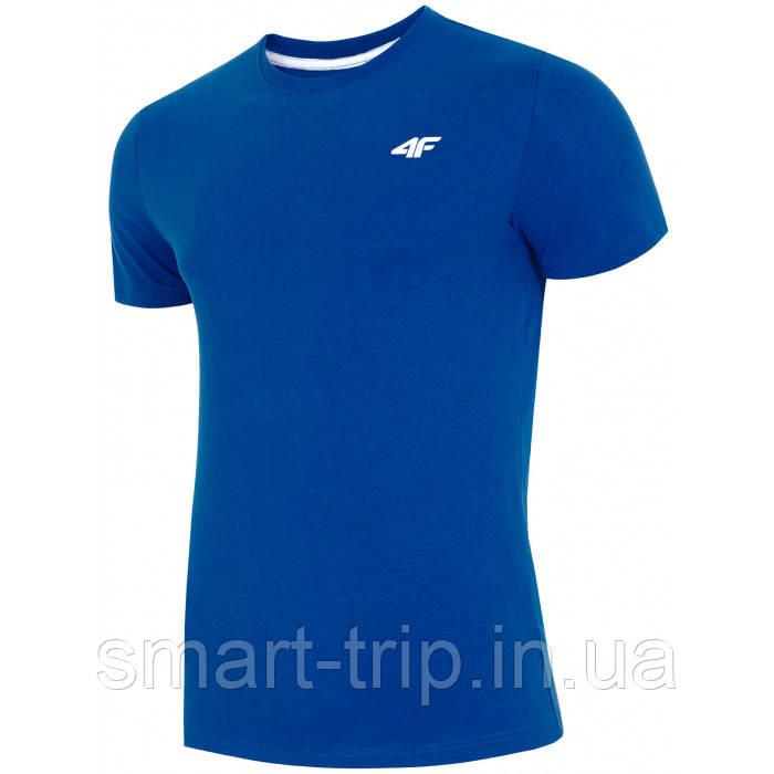 Мужская футболка 4F XL синий 1=2 Men (H4L19-TSM002)