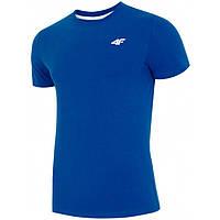Мужская футболка 4F XL синий 1=2 Men (H4L19-TSM002), фото 1