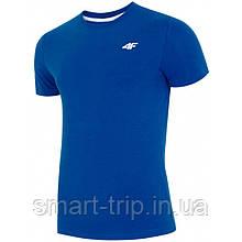 Чоловіча футболка 4F XL синій (H4L19-TSM002-1)