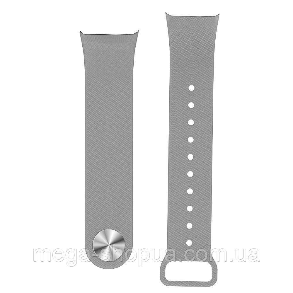 Ремешок для фитнес-браслета F1 Smart Bracelet Gray. Сменный ремешок для F1