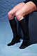 Компрессионные гольфы для повседневного ношения и путешествий в современных цветах и дизайне р.S цвет черный, фото 4
