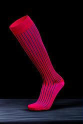 Компрессионные гольфы для повседневного ношения и путешествий в современных цветах  р.М цвет Красный