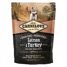 Корм для цуценят Carnilove Puppy Large Breed Salmon & Turkey 1,5 кг