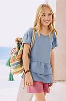 Блуза  Pepperts 1199 140  голубой