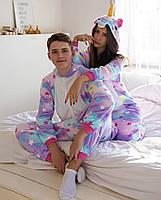 Пижама кигуруми звездный единорог для взрослых и детей kig0016
