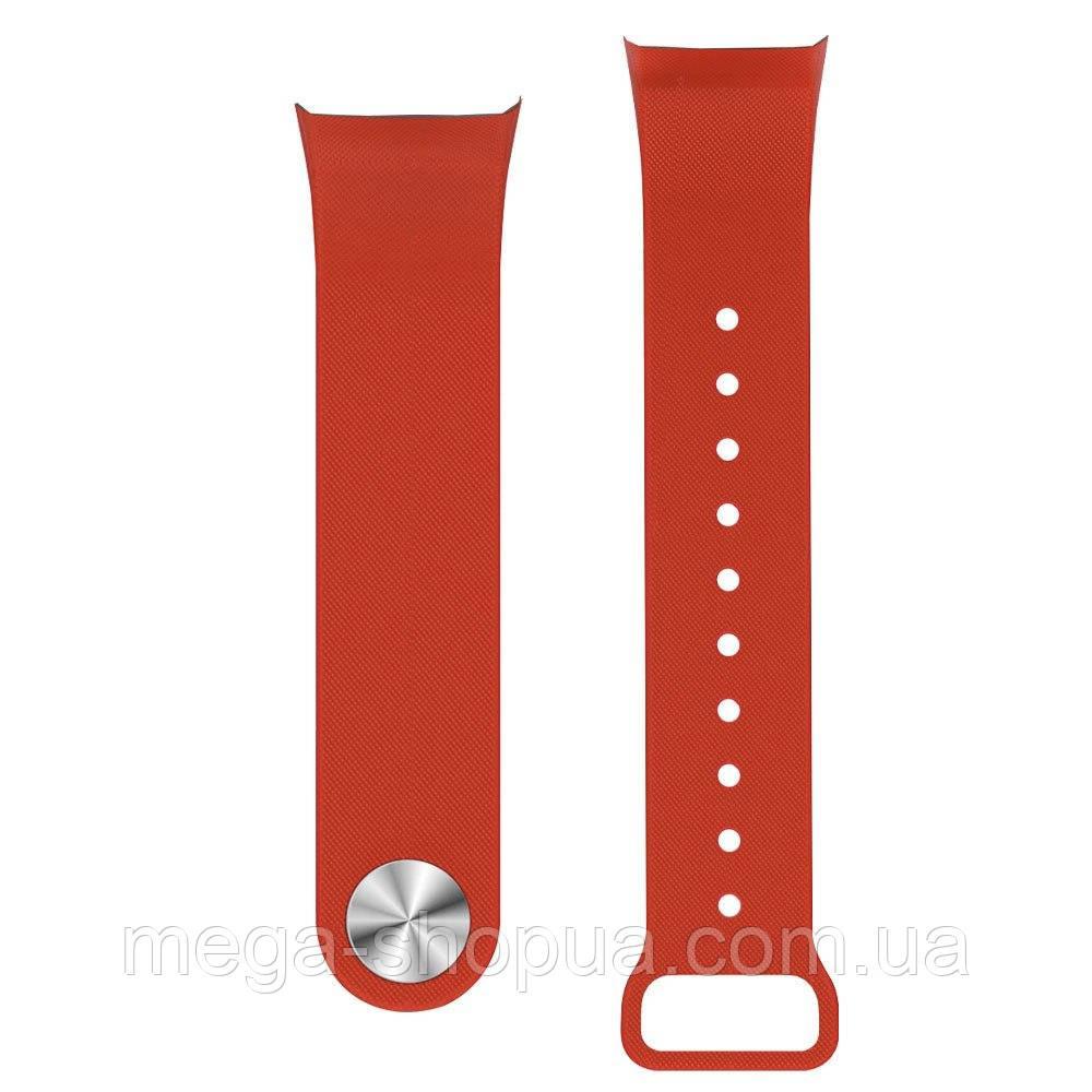 Ремешок для фитнес-браслета трекера часов F1. Ремінець для фітнес браслета F1 Plus Smart Bracelet Red