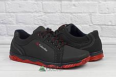 Чоловічі кросівки червона підошва, фото 3