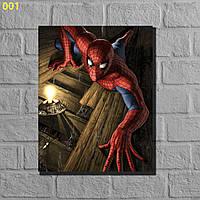 "Фотокартины на холсте ""Спайдермен"" 50х40см, фото 1"