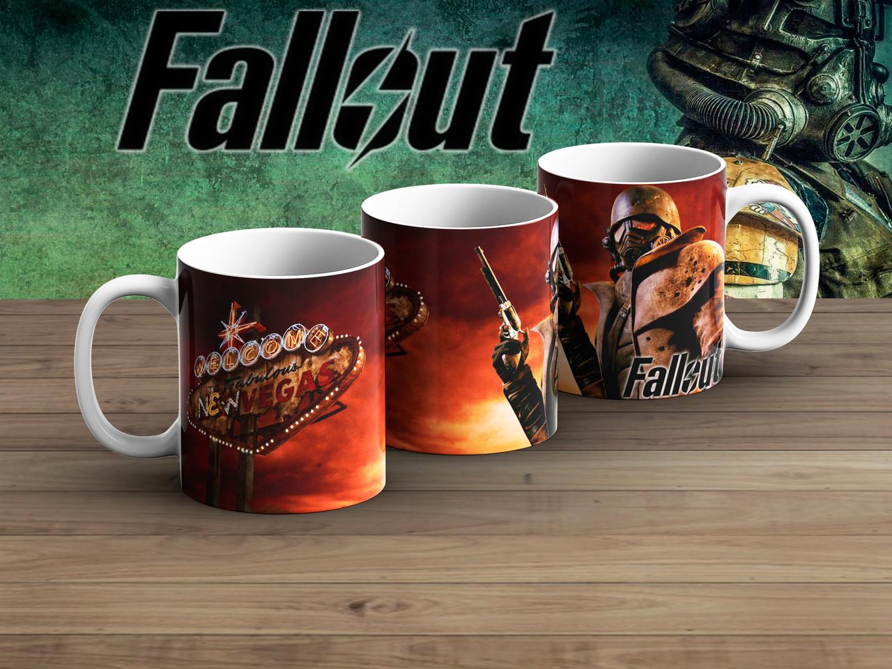 Чашка New Wegas Фаллаут / Fallout