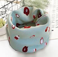 Детский флисовый шарф-хомут Оптом
