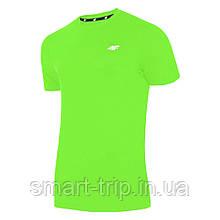 Мужская футболка 4F Dry L зеленый 1=2 Men (H4L19-TSMF002-41N)