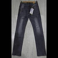 Оптом подростковые  черные джинсы для мальчиков GRACE