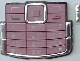 Клавиатура Nokia N72 rose orig