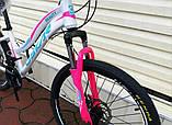 """Велосипед Oskar 24""""BEAUTY белый подростковый, фото 7"""