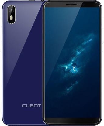 "Смартфон Cubot J5 Blue 2/16Gb, 8/5Мп, 5,5"" IPS, 2SIM, 3G, 2800мАh, 4 ядра"