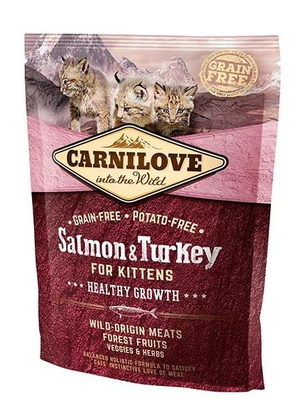 Корм для кошенят Carnilove Cat Salmon & Turkey Kitten 0.4 кг