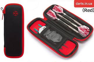 Футляр для дротиков дартс Harrows Blaze red/black