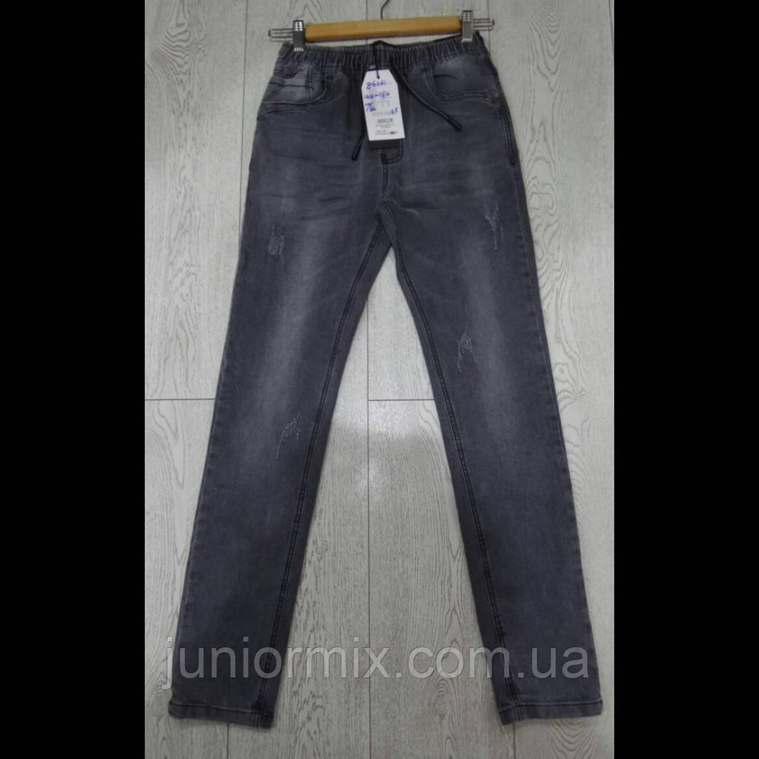 Подростковые джинсы на резинке для мальчиков оптом GRACE