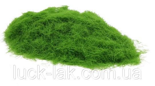 Імітація трави, флок для діорам, мініатюр, 5 мм, 5 гр