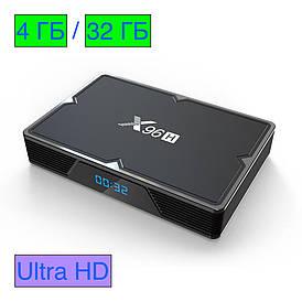 Смарт ТВ приставка X96H Android Smart TV Box 4G+32G
