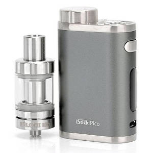 Электронная сигарета Eleaf iStick Pico 75W TC Mod + атомайзер MELO III Mini (Оригинал) Серый