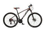Велосипед гірський MTB Oskar Sporta 27.5 колеса гідравлічні гальма, фото 2