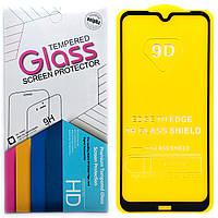 Защитное стекло 9D для Xiaomi Redmi Note 8T (Black)