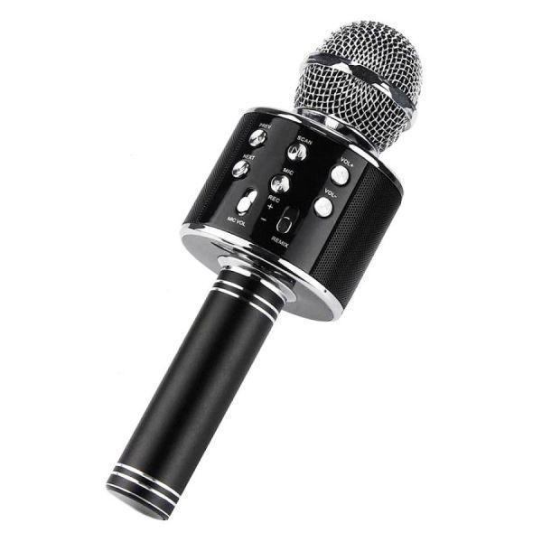 Беспроводной микрофон WS-858 чёрный