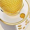 Беспроводной микрофон WS-858 золотой, фото 4