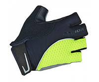 AUTHOR Перчатки Team X6, размер  S, черно-неоново желтые