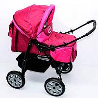 Коляска для детей Viki 86- C 40 малиновый - 220071