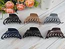 Крабы для волос пластик перламутровые L 8 см цветные 12 шт/уп., фото 2