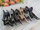 Крабы для волос пластик перламутровые L 9.5 см цветные 12 шт/уп., фото 2