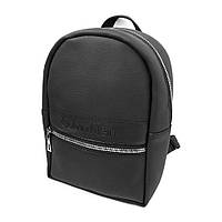 Женский рюкзак в стиле CALVIN KLEIN черный, модный портфель Кельвин Кляйн (реплика), сумка Кельвін Кляйн