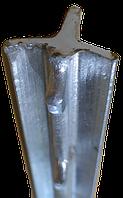 Столб «Казачка» Т-образный 2м — металлический столб для рабицы, казачки, сетки