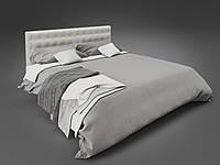Двуспальная кровать Глория Tenero с мягким изголовьем